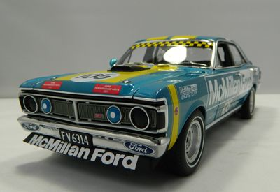 Jim Richards Ford Falcon XY GTHO Phase III, 1972 NZ Touring Car Champion