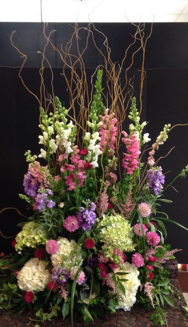 Sympathy flowers for a gardener