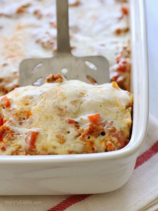 This easy baked pasta dish is made with whole wheat elbows, ground turkey, veggies, marinara sauce and cheese. I can't say enough good things about this casserole! It's comforting, kid-friendly and so easy to make because there's no need to pre-cook the pasta!     I come from the school of having to cook your pasta in plenty of water, so when someone kindly shared this recipe with me, I won't lie, I was skeptical! But I loved the outcome, and since then I've made it a few times over tweaking…