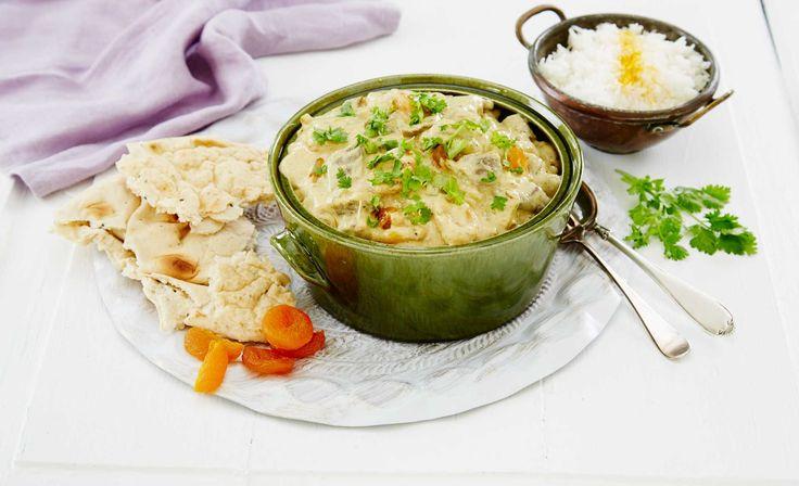 En smakfull kremet gryterett med lam fra India. Herlige eksotiske krydder sammen…
