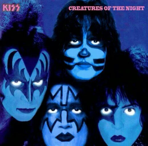 Night Creatures Vinyl Kiss