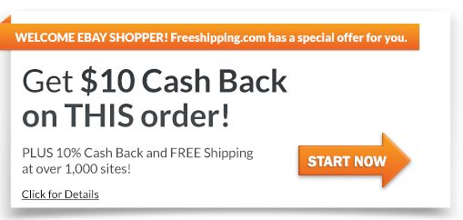 10% Cash Back and Free Shipping at Over 1,000 Retailers! | FreeShipping.com