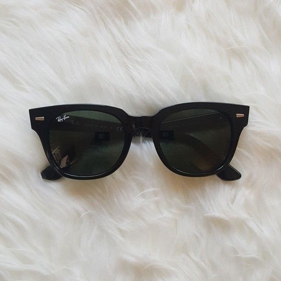 4d64c4cd77 Ray-Ban RB4168 Meteor Black Sunglasses! Excellent Condition! Authentic!   fashion  clothing  shoes  accessories  unisexclothingshoesaccs   unisexaccessories ...