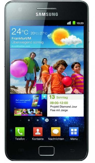 Samsung Galaxy S2 i9100 ohne Vertrag