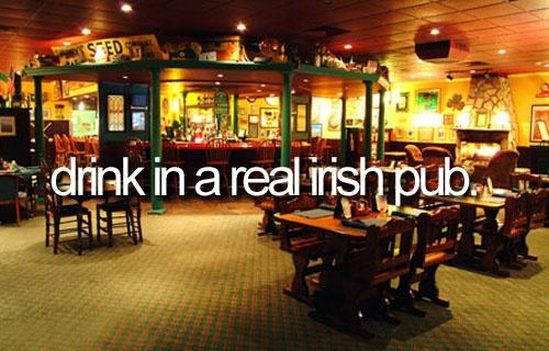 funIrish Heritage, Buckets Lists, Real Irish, Check, Irish Pub 3, Irish Thy, Bucket Lists