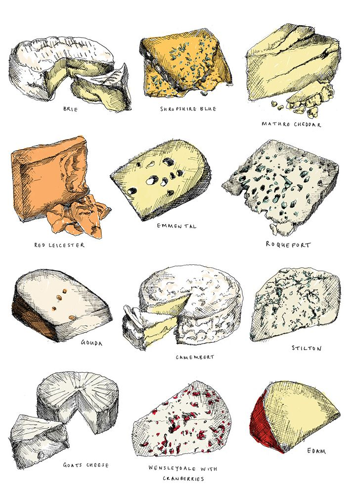 Twelve Cheeses   rePinned by CamerinRoss.com