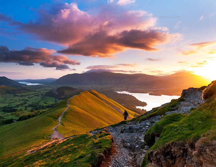 Catbells sunrise, Lake District