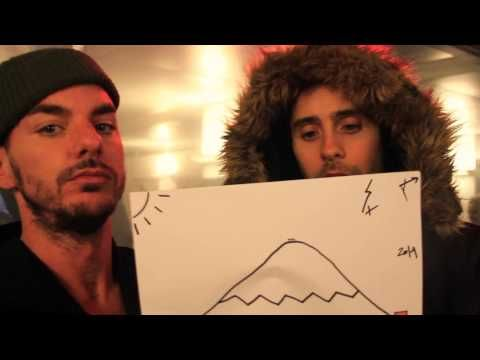 bigDRAW: SO SEHEN SICH 30 SECONDS TO MARS