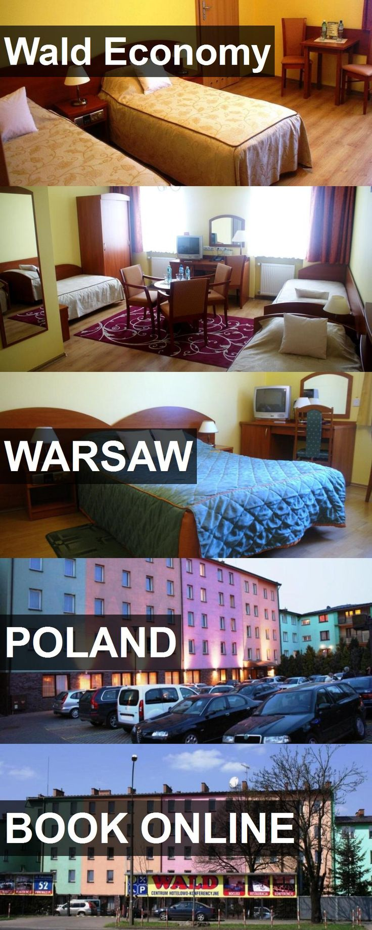 Hotel Wald Economy in Warsaw, Poland. For more information, photos, reviews and best prices please follow the link. #Poland #Warsaw #travel #vacation #hotel