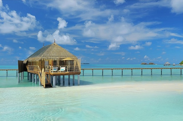 The Most Picturesque Overwater Bungalows