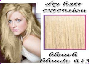 14 inch Luxury Hair Weft and Clips. DIY set to make your own hair extensions #613 Bleach Blonde by Luscious Hair Extensions. $69.99. If you are looking to choose a new hair extension for your hair, just follow these simple instructions: Find the colour that matches your hair by browsing through the various products on offer at our site. Pictures on display are an exact match of the products themselves. If you have problems with matching the colours, we have a unique co...