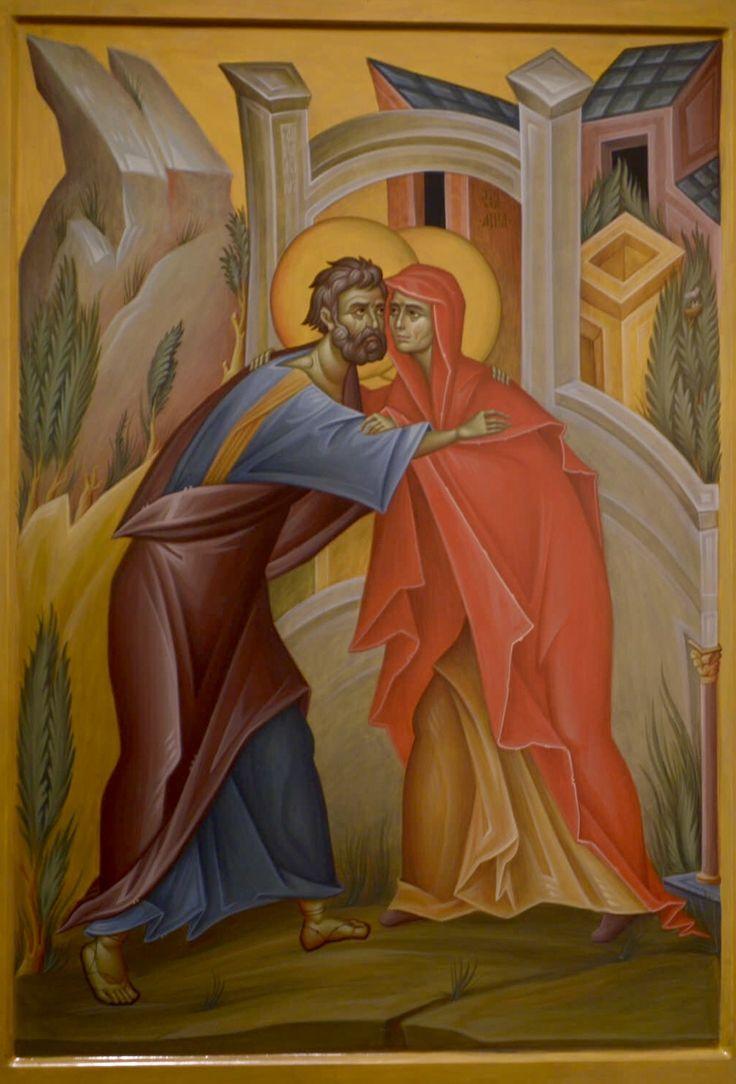 Conception of Theotokos / St. Anna & St. Joachim by Philip Davydov