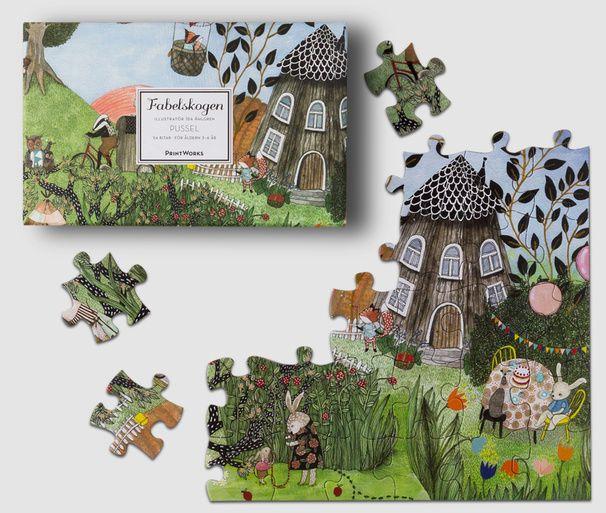 Fabelskogen – Puzzle