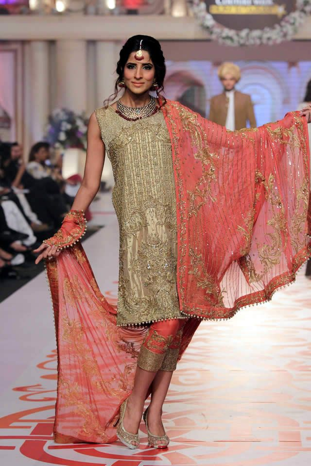 2015 Telenor Bridal Couture Week Adnan Pardesy Dresses Collection Photos