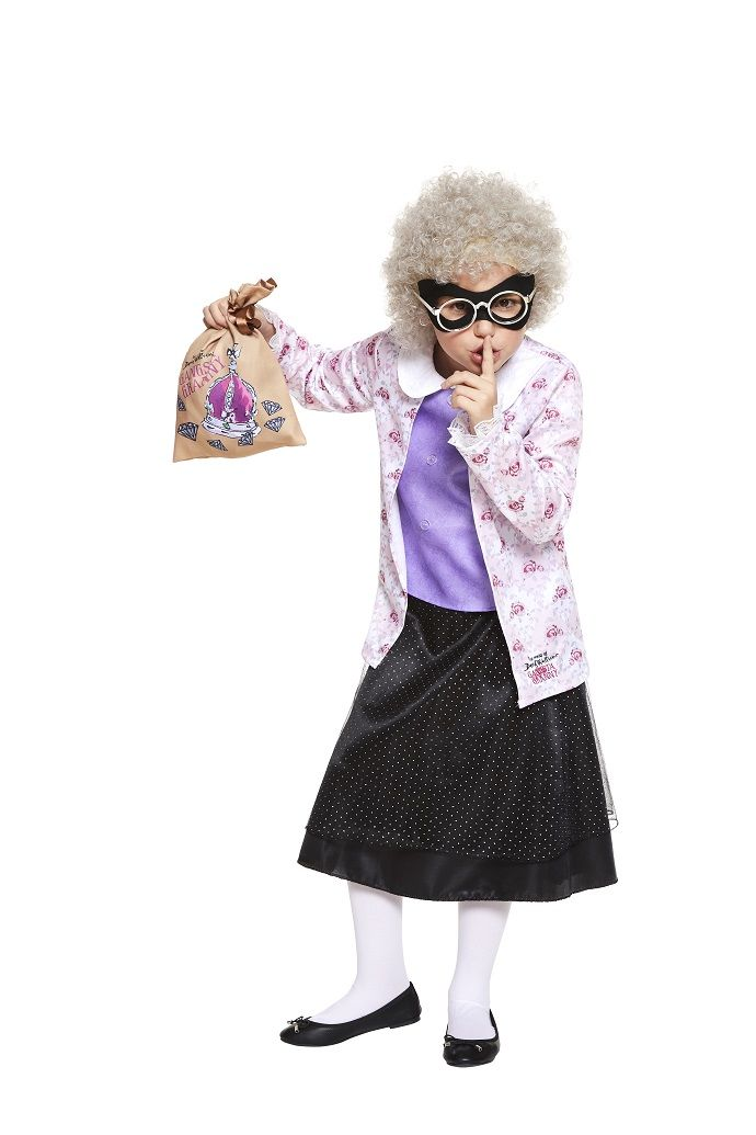 If your child loves the David Walliams books, they'll love this brand new Gangsta Granny costume! It's a fun World Book Day costume idea and it's available from partydelights.co.uk.