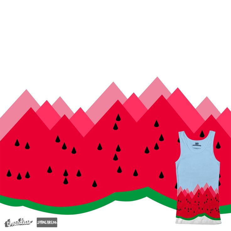 WATERMELON MOUNTAIN on Threadless