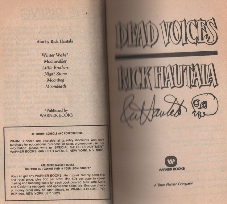 11 best westerns lewis b patten images on pinterest westerns signed first edition of dead voices by rick hautala pbo 1990 horror novel fandeluxe Images