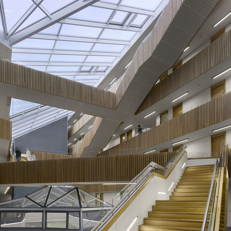 University of Oxford Mathematical Institute / Rafael Viñoly Architects