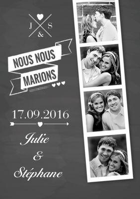 Des faire-part de mariage que vous personnalisez chez Optimalprint France