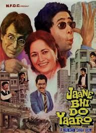 Jaane Bhi Do Yaaron - A Cult Classic in Hindi/Indian Cinema.. An excellent Black comedy.. A must see for Art movie lovers