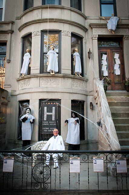 Halloween Exterior: Welcome to the Asylum.
