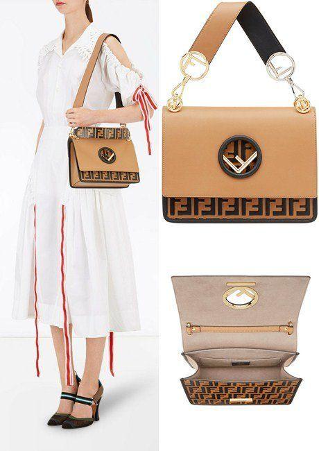 5d10430d4e58 25 Must-Have Shoulder Bags Perfect for Any Occasion (Women). Fendi Kan I F shoulder  bag