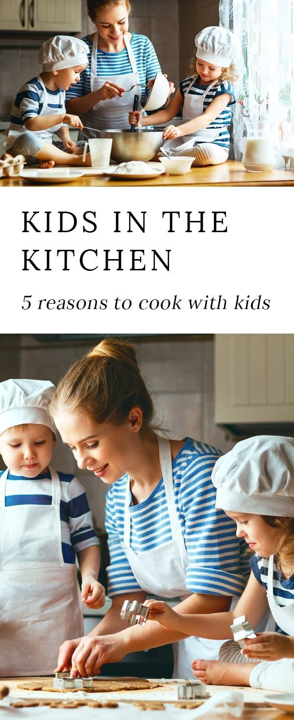 Cooking with kids is fun and has many positive benefits for both parent and child. via @https://www.pinterest.com/fireflymudpie/