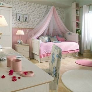 When My Daughter Outgrew Her Nursery, I Started Looking For Little Girls  Bedroom Ideas On A Budget. I Wanted To Give Her A Bedroom That Was Both  Beautiful ...