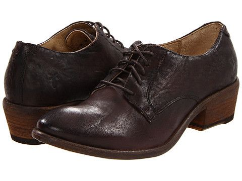 Frye Carson Oxford Cognac Leather - Zappos.com Free Shipping BOTH Ways