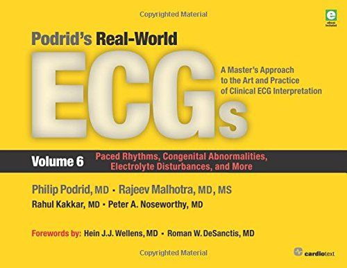 24 best books images on pinterest med school medical and online podrids real world ecgs volume 6 pdf download e book fandeluxe Choice Image