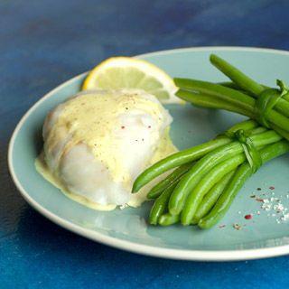 Découvrez la recette Haricots verts Vapeur, lotte au lait de coco sur cuisineactuelle.fr.