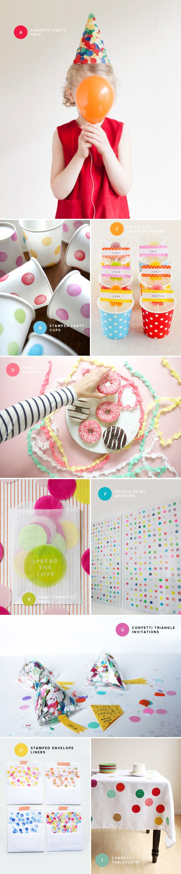 Polka dot party http://ohhappyday.com/2014/02/polka-dot-party-ideas/