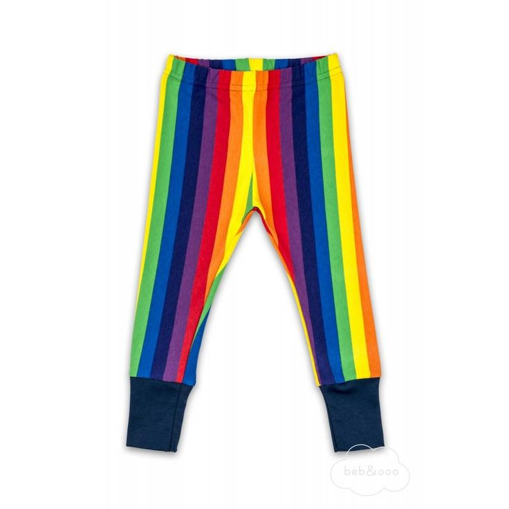 Rainbow Leggings from Beb & Ooo. Made in the UK and Available at Modern Rascals.    Restock Alert!!!