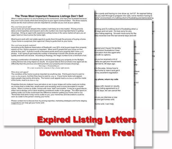expired listing letter 12 best real estate door hangers images on 1633