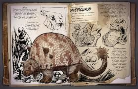 ark survival evolved dossier - great at collecting rock. Stong. Really fun to ride