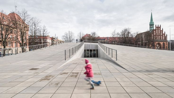 A subterranean museum in Poland with a huge public space on its roof has won the title World Building of the Year 2016 at the World Architecture Festival.