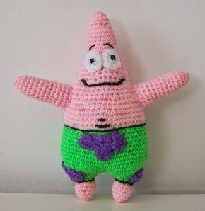 Gateando Crochet: Patrón Patricio amigurumi