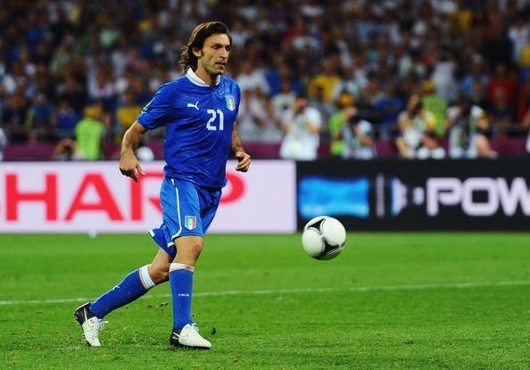 Andrea Pirlo #Euro2012