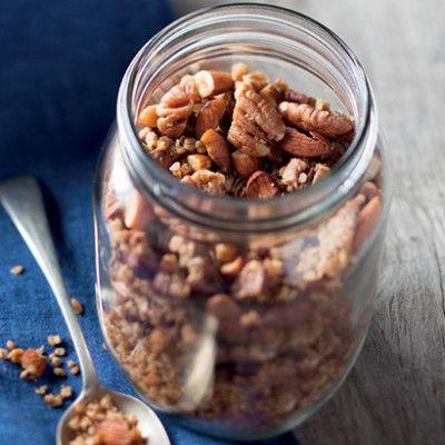 Taste Mag | Basic granola @ http://taste.co.za/recipes/basic-granola/