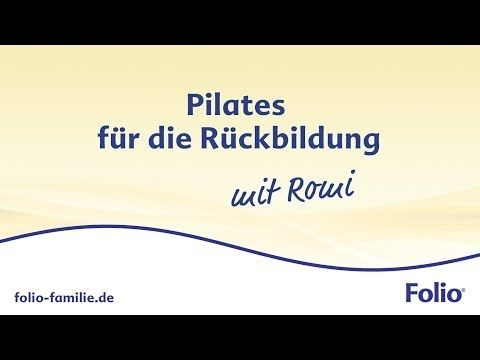 Pilates Rückbildung: Topfit nach der Schwangerschaft! - YouTube