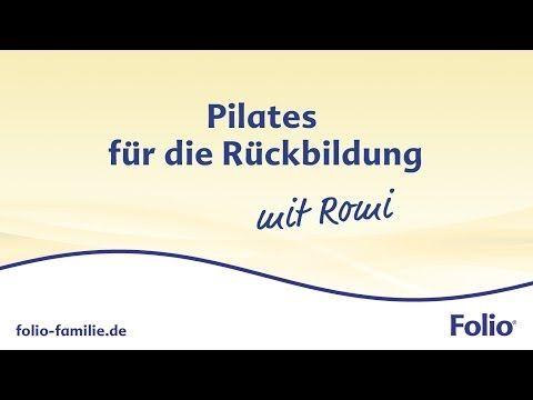 Pilates-Rückbildungsgymnastik zum Mitmachen! - YouTube