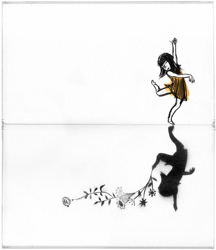Suzy Lee's 'Shadow' dummy book