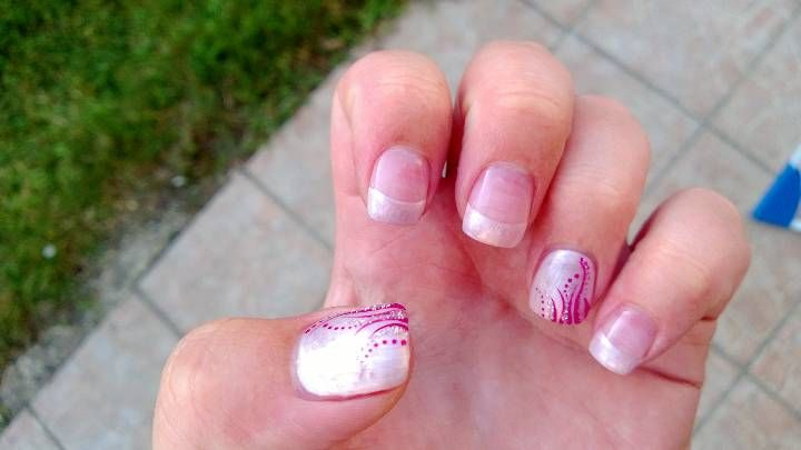 Pearly nails