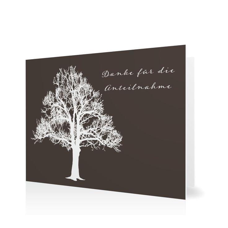 Dankeskarte Lebensbaum in Schamott - Klappkarte flach #Trauer #Danksagungskarten #elegant https://www.goldbek.de/trauer/danksagungskarten/dankeskarte-lebensbaum?color=schamott&design=d3cff&utm_campaign=autoproducts