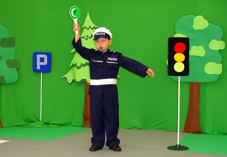 PAN POLICJANT - PRZEDSZKOLE NUTKA W SZCZECINKU