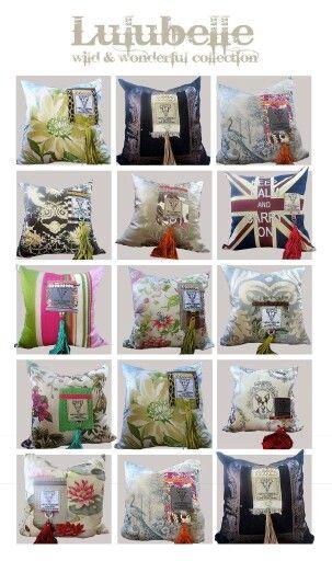 Lulubelle cushions