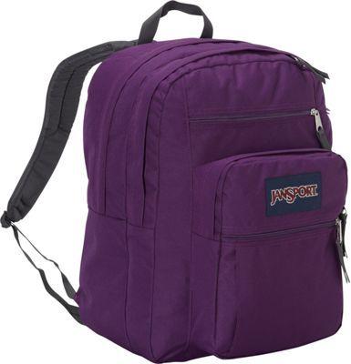 JanSport Big Student Backpack Vivid Purple - via eBags.com!