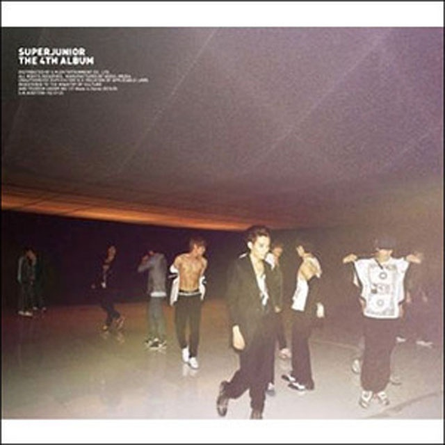 SuperJunior (スーパージュニア) - THE 4TH ALBUM [BONAMANA]【楽天市場】