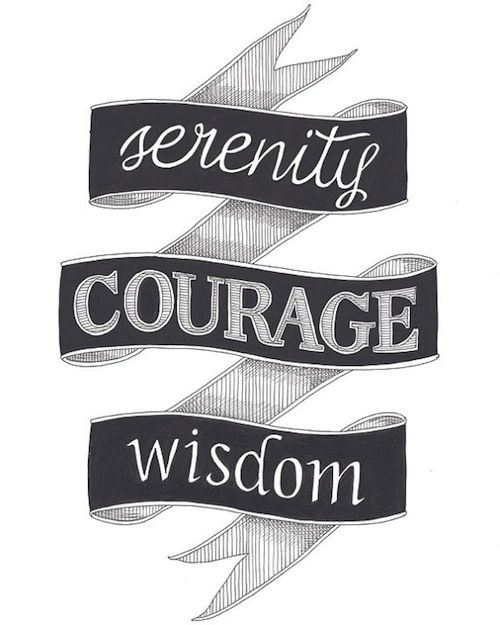 16 Best Images About Tattoos Celebrating Recovery On: 16 Best Images About Serenity Prayer On Pinterest