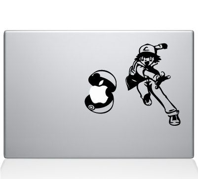 Ash pokemon macbook decal laptop sticker by rockpaperstickers 7 50 https www